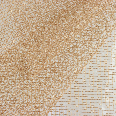 Ткань сетка - Бежевая. Арт. W2009 C21