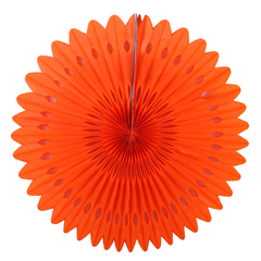 Фант с перфорацией 30 см, оранжевый
