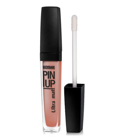 LuxVisage Блеск для губ PIN UP ultra matt тон 24