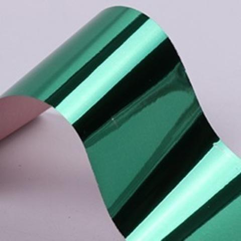 Фольга для дизайна ногтей (зеленая)