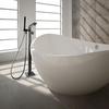 Напольный смеситель для ванны с душевым комплектом KUATRO 478502MK - фото №2