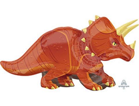 А ФИГУРА/P35 Динозавр Трицератопс