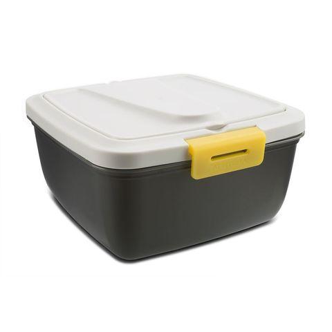Контейнер Арктика 030-1600 квадр. 1.6л. пластик серый/желтый (030-1600/YEL)