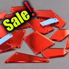 Купить максимальный набор пришивных красных зеркал Light Siam