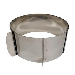 Кольцо раздвижное Профессиональное 16-30см, высота 8см ( металл 0,6мм)