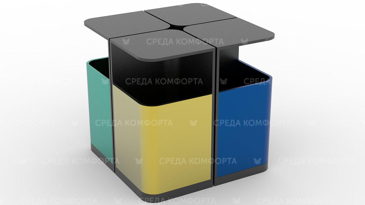 Урна для раздельного сбора мусора URN0156