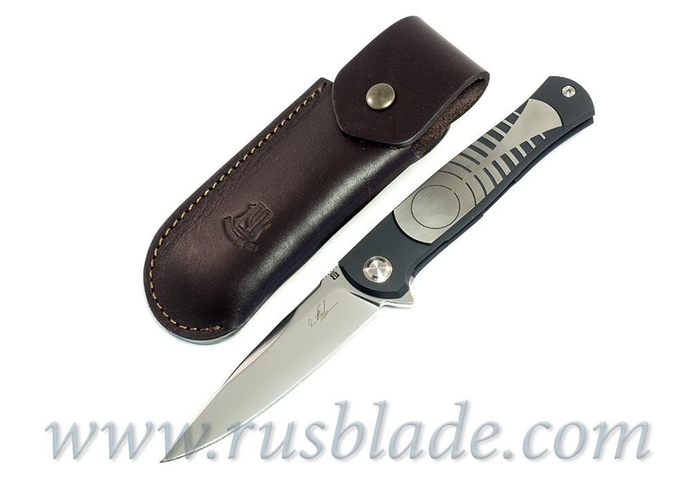 Cheburkov Pike M390 Custom one-off Folding Knife