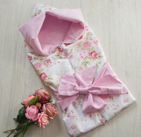 Летнее одеяло - конверт - трансформер на выписку