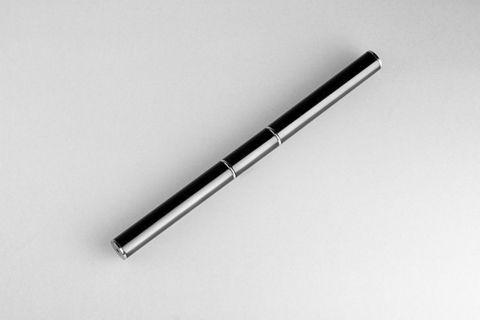 Monami кисть+лопатка для акрил-геля (черная)