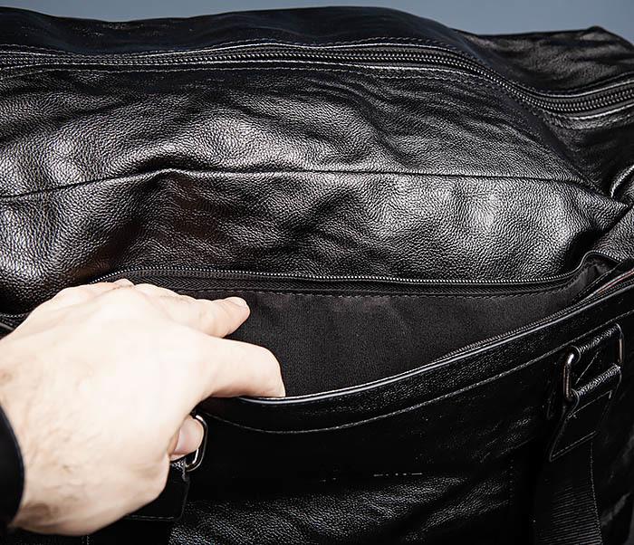 BAG544 Мужская дорожная сумка с ремнем на плечо фото 09