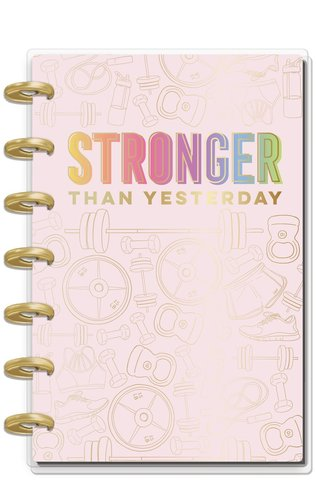 Ежедневник  Mini Happy Planner®  -13х18 см - Fitness (НЕ датирован)