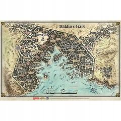 D&D Descent Into Avernus - Baldur's Gate Map (23'x 17')