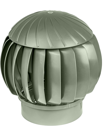 Турбина ротационная ERA RRTV D160 Silver, (Нанодефлектор), вентиляционная, пластик