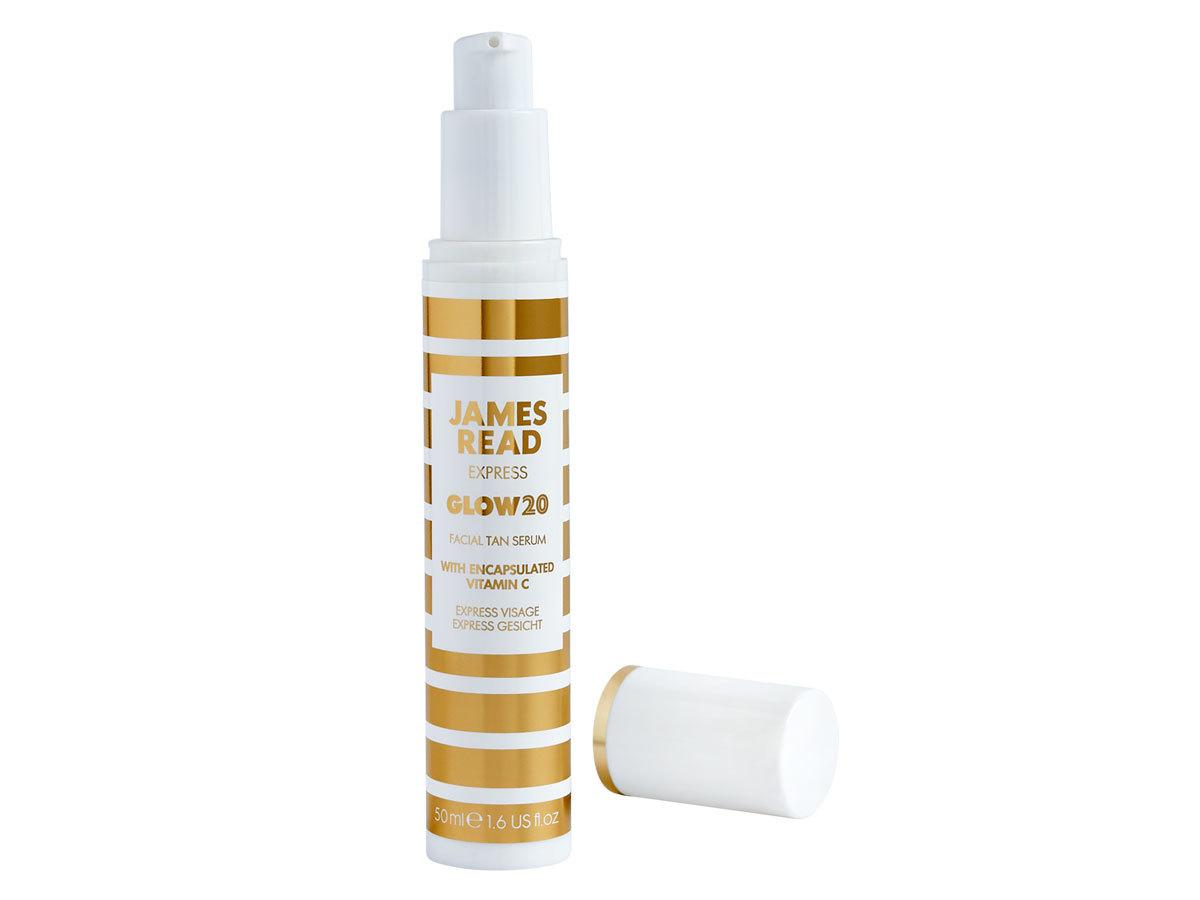 Экспресс-сыворотка для загара James Read Express Glow 20 Facial Tan Serum with Vitamin C 50 мл