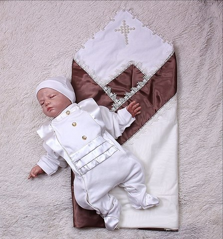 Набор на крещение мальчика Диво комби