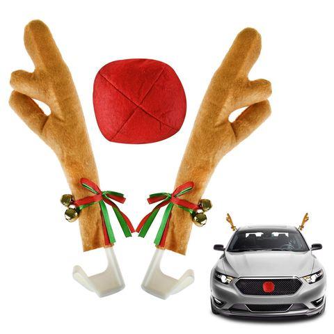 Новогодние декорации для авто
