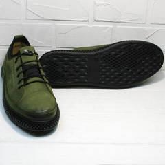 Мужские демисезонные кроссовки туфли casual Luciano Bellini C2801 Nb Khaki.