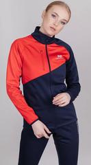 Женская утепленная лыжная куртка Nordski Premium Blueberry-Red W