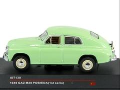 GAZ-M20 Pobieda 1st Series light green 1949 IST130 IST Models 1:43