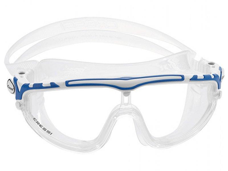 Очки Cressi SKYLIGHT прозрачный силикон/прозрачные линзы
