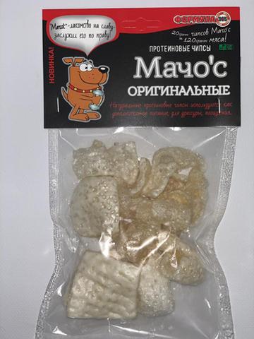Протеиновые чипсы Мачо'с ОРИГИНАЛЬНЫЕ 20г.