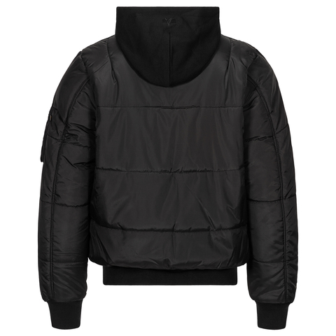 Бомбер Alpha Industries MA-1 Natus Quilted Black