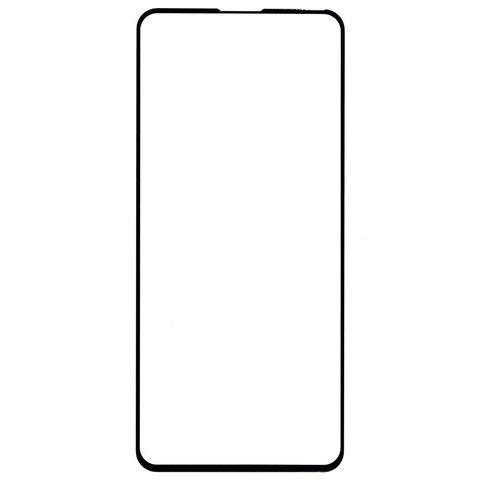 Защитное стекло для Xiaomi Poco F2 Pro с черной рамкой 2,5D Full Glue