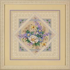 DIMENSIONS Растения и кружева (Flowers and Lace)