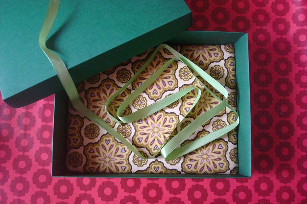 Подарочная коробка Клевер