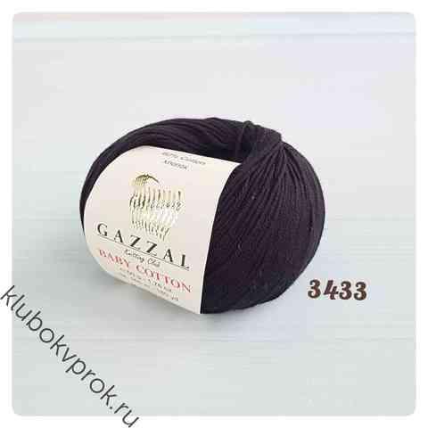 GAZZAL BABY COTTON 3433, Черный