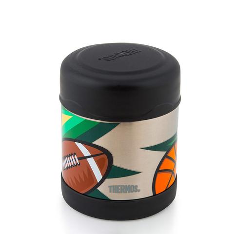 Термос детский для еды Thermos F3008MS Food Jar (0,29 литра), черный