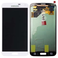 LCD SAMSUNG Galaxy S5 G900F + Touch White Orig MOQ:5