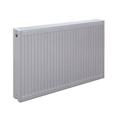 Радиатор панельный профильный ROMMER Ventil тип 21 - 300x1100 мм (подключение нижнее, цвет белый)