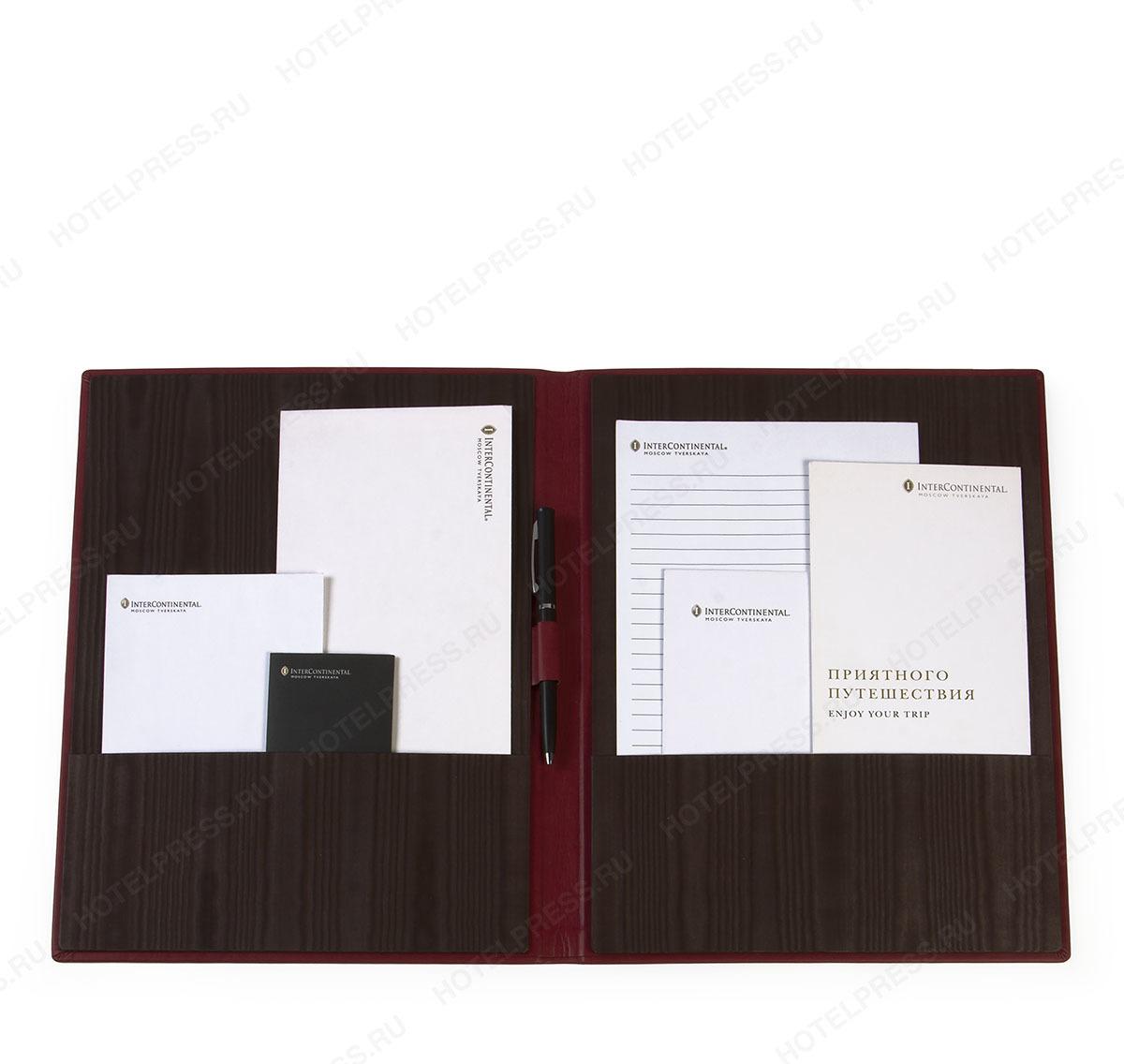 Папка для корреспонденции софт тач ПДК_4