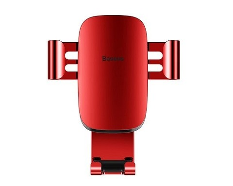 Baseus / Автомобильный держатель Metal Age Gravity Car Mount | красный
