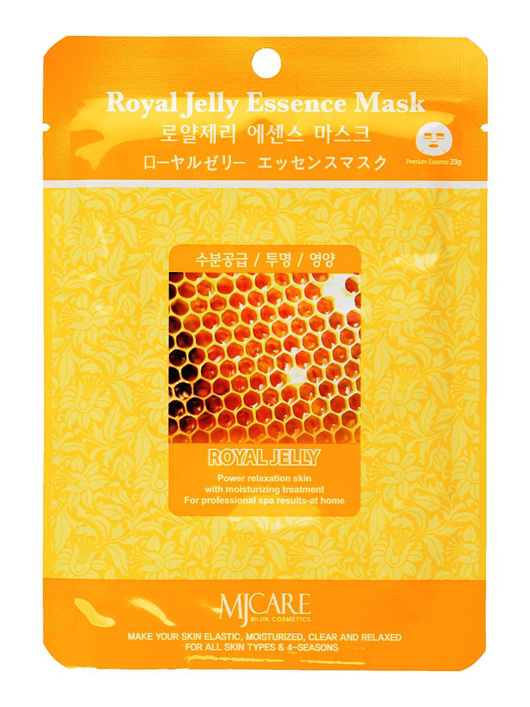 MIJIN Маска тканевая для лица маточное молочко Royal Jelly Essence Mask МЖ11.jpg
