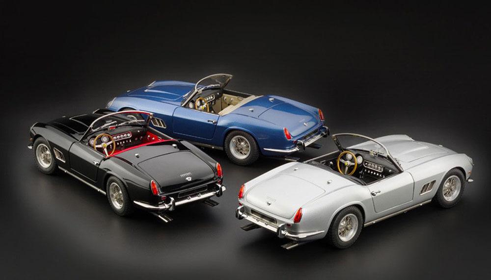 Коллекционная модель Ferrari 250 GT SWB California Spyder 1960 Black/Silver