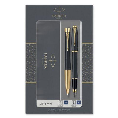 Набор Parker Urban Core FK200 Muted Black GT (2093381) ручка перьевая и шариковая