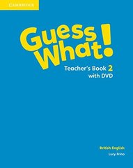 Guess What! Level 2 Teachers Book with DVD