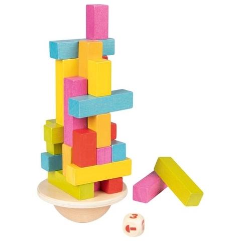56795 Балансир деревянный Танцующая башня Goki