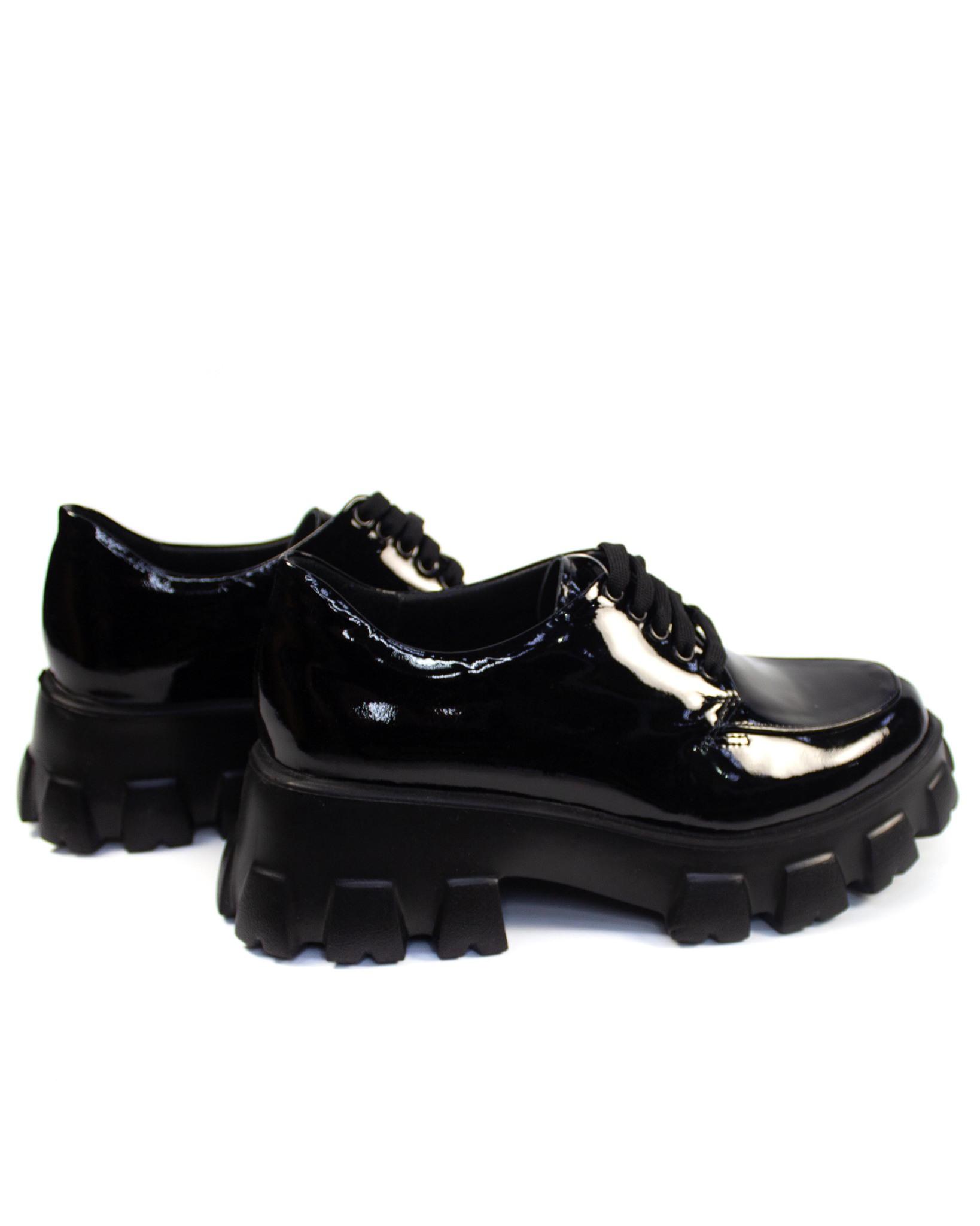 черные туфли Grand Donna