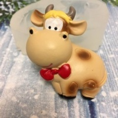 Силиконовая форма «Корова Бурёнка»