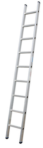 Лестница приставная, 8 ступеней, раб. высота 3,40 м