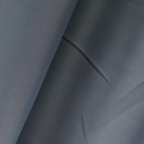 Портьерная ткань блэкаут серый. Арт. DJ/BL-7-01 - 1 метр.