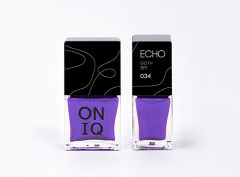 ONP-034 Лак для стемпинга. Echo: Goth BFF
