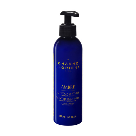 CHARME D'ORIENT | Молочко для тела с янтарным ароматом / Lait pour le corps parfum Ambre / Scented body milk Am, (195 мл)