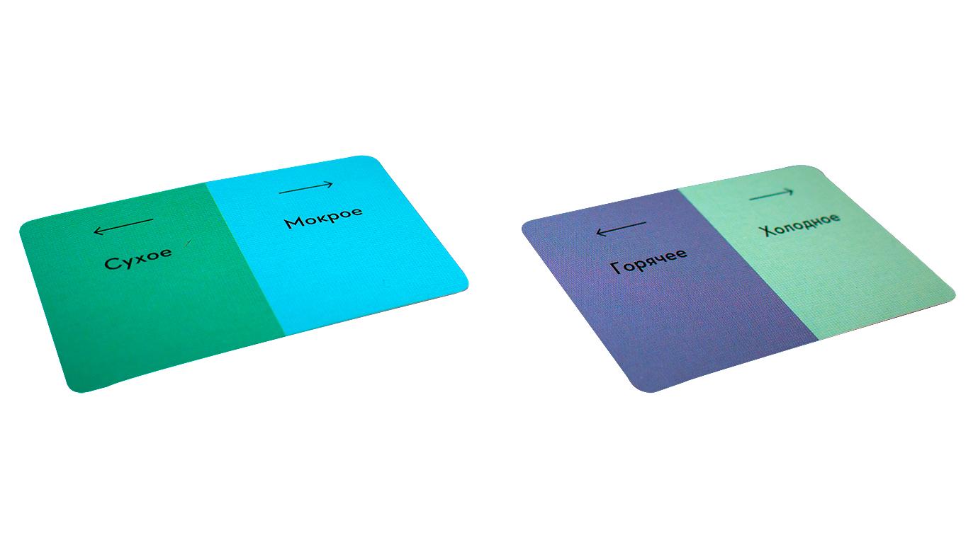 Настольная игра Длина Волны - карточки