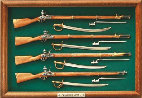 Napoleon wars rifles