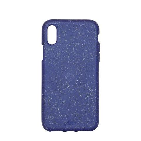 Чехол для телефона Pela iPhone X синий