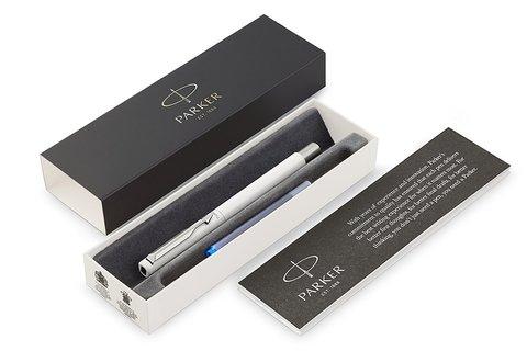 Перьевая ручка Parker Vector Standard F01, цвет: White123